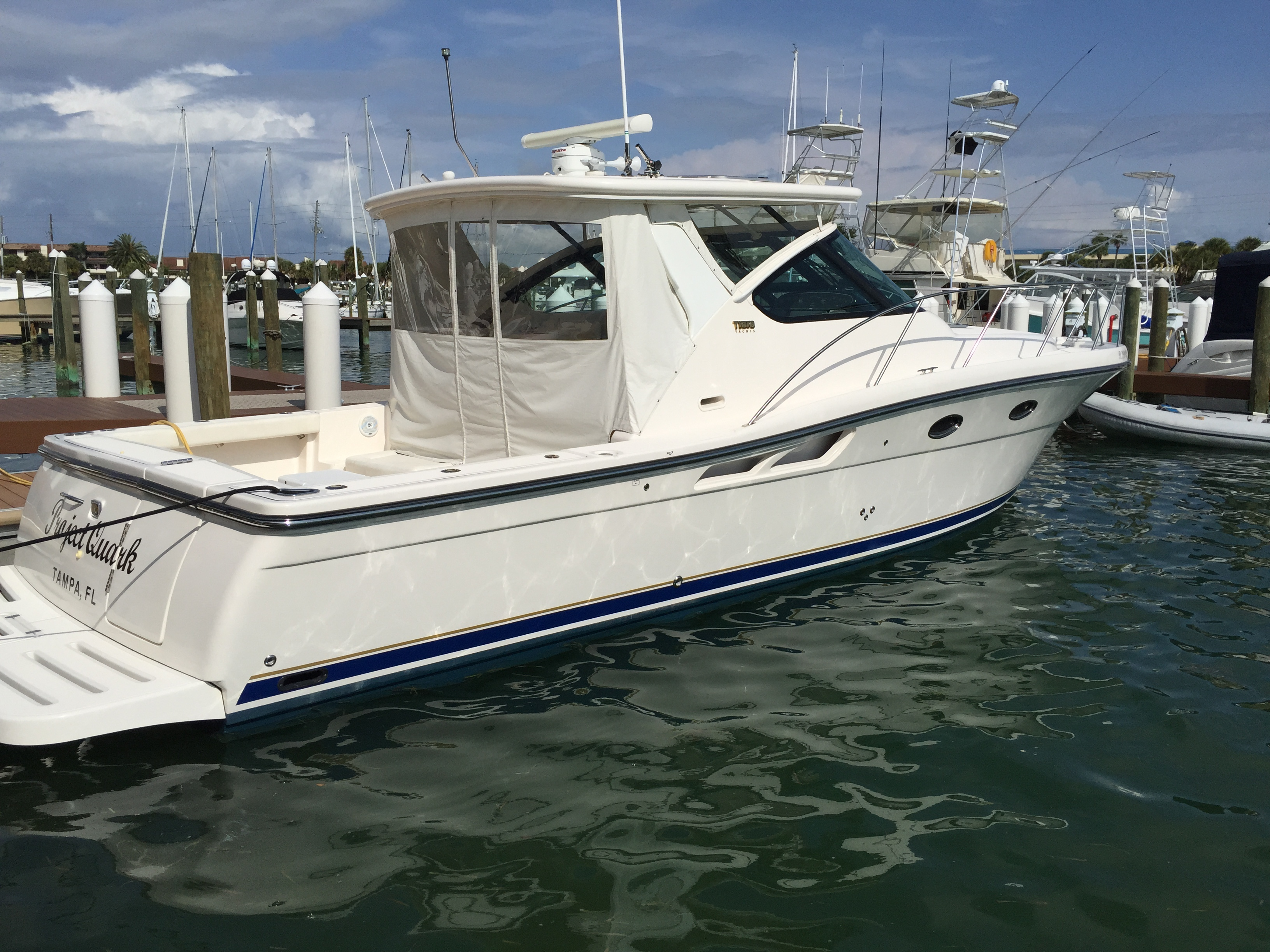Boat we provide boat maintenance for in Tampa, FL